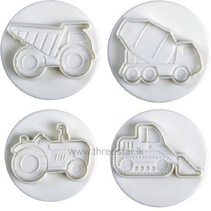 HEAVY VEHICLE PLUNGER CUTTERS 4 PCS