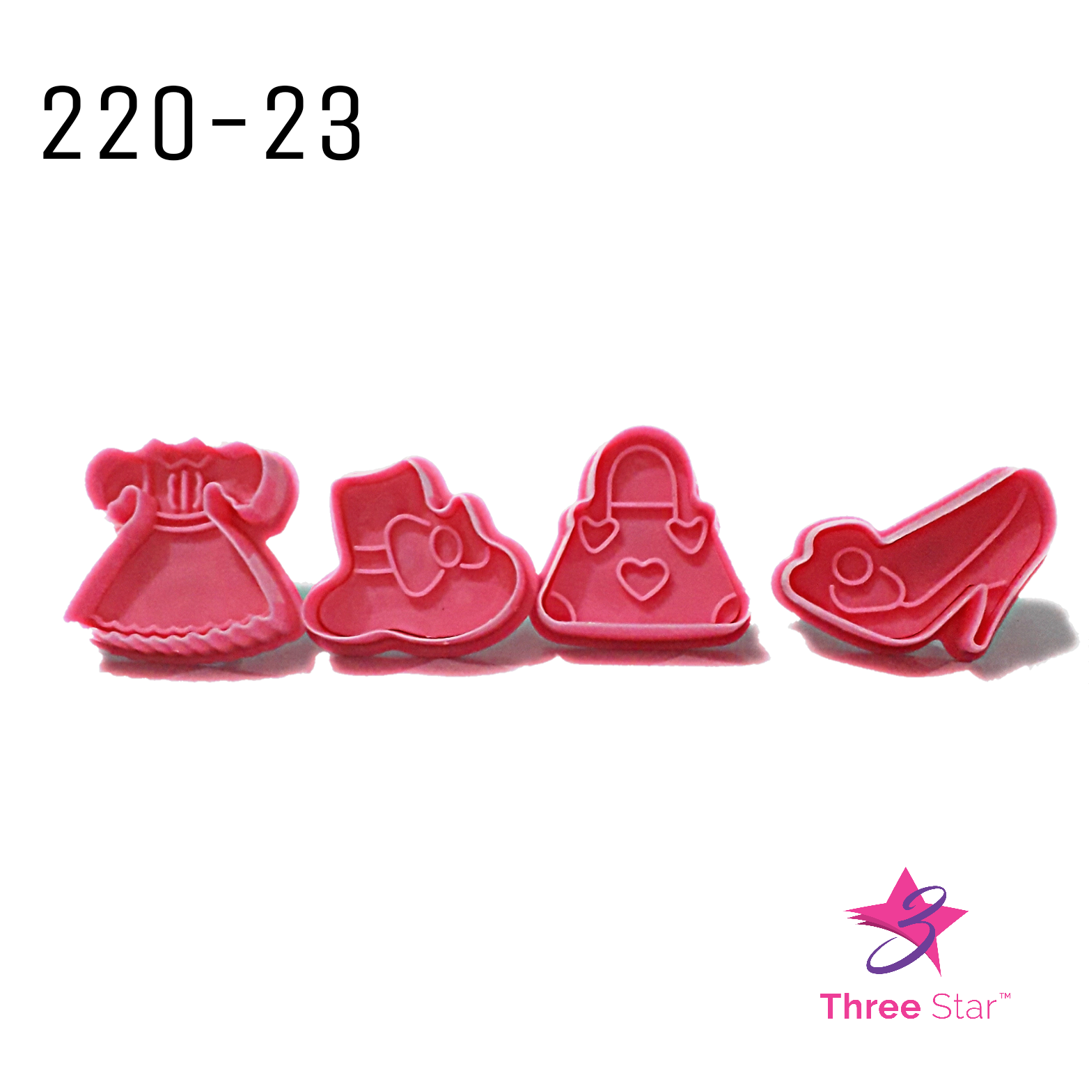 THE GIRL SERIES PLUNGER CUTTERS 4 PCS