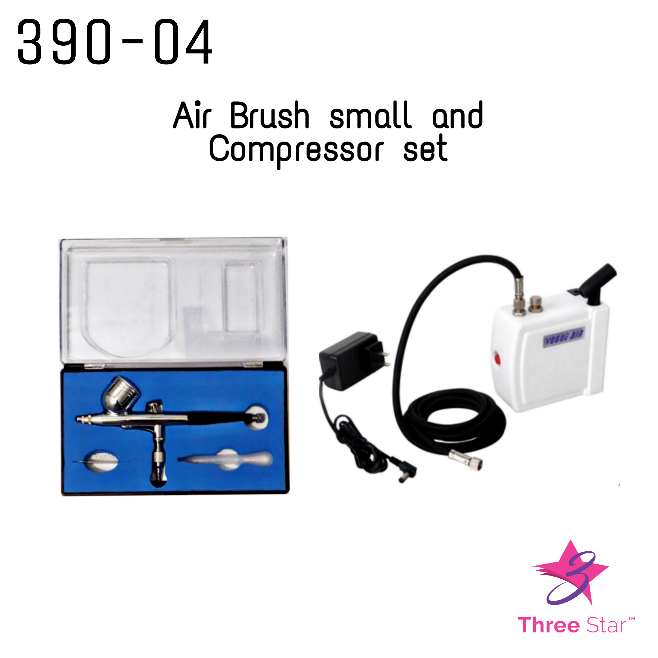 Air Brush Small and Compressor set